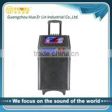best price bluetooth 2.0 dj speaker for stage with usb ,sd,mixer portable home audio speakers