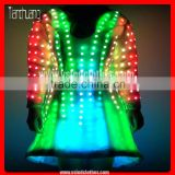 LED sexy belly dance costume, Little boots designed LED Dancing Skirt
