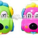 OEM Colourful Beautiful Cartoon Shape Hot Sell Cute & Novel Kids Plastic Vehicle Car Model Toy