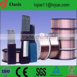 Production line and technology for manufacturing welding electrode