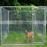 6'H x10'W x 10'D galvanized Chain Link dog Kennel , dog run , dog fence panel