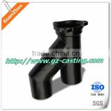 60 degree elbow pipe fitting OEM casting products from alibaba website China manufacturer with material steel aluminum iron
