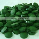 Anti-Aging Anti-Fatigue Nutrition Supplement Bulk Spirulina Tablet