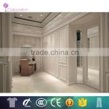 hot sale Fashion italian style wardrobe bedroom with folding mirror door