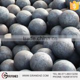 Steel grinding ball used in Cement lines