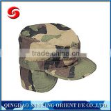 Good quality camo army hat with earflaps