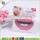 New 2016 Body Painted TemporaryTattoo Fashion Stickers Mouthed Lip Shape Lip Prints A Spoof Arm