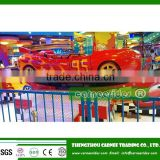 Portable amusement ride children track rides mini flying car rides for traveling amusement park
