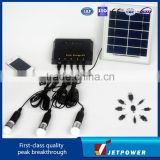 4W,6W,10W,15W,20W,30W,50W Portable Home Solar System for home lighting & charging mobile phone