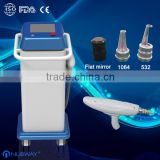 Manufacturer supply!!!! cheapest professtional q-switch nd yag laser tattoo removal machine