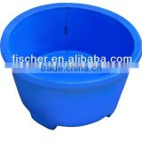 High quality hot selling aquarium koi fish tank, koi showing tank, plastic bucket for fish breeding