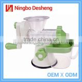 Professional manufacturer wholesale mini stainless steel centrifugal juicer orange juice extractor machine