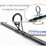 Spinning fishing rod daiwa brand fiber glass