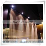 Aluminum chain link curtain for decoration