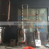 brewery equipment home brew,copper flute distiller ,grappa distiller bubble cap plates distiller
