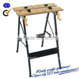 Folding Wooden Work Bench
