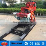 Water well drilling machine with mud pump and drilling bits