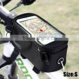 Roswheel Bicycle Saddle Phone Bag For 5.5 inch Touch Screen Phone Holder Handlebar Pack 3 Colors S M L