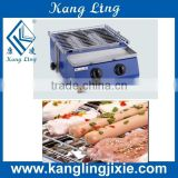 WX-252A Home Use and Commercial Use Gas Fuel Smokeless Enviromental Barbecue Grill Machine on Hot Sale Best Price