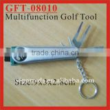 (GFT-08010) 7 in 1 Multifunction Golf Divot Repair Tool