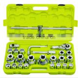 "CF598701 26cs 3/4""drive socket and auto repair tool box set"