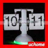 UCHOME LED High quality auto flip clock/flip desk clock