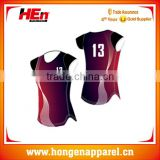 Promotion custom design mens volleyball jersey inflatable style /volleyball uniform designs