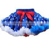 Fashion hot sale Rand Christmas baby skirt one piece girls party dresses blue tutu skirt for baby girl