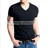 Online store sales 100% cotton men's fashion short sleeve T-shirt