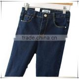 Wholesale Denim Pants Women harem Dark vintage Blue denim Jeans