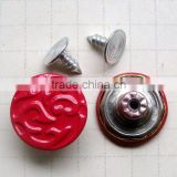 Factory Supply Fashion Painted Jean Buttons(Come to my shop see other Jean button design)