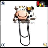 cute animal milk pvc bookmark
