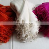 Pure Cashmere Twill Weave Shawls