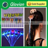 Hot sale glowing hair braid ,led flashing hair hoops flashing Braid for New Years Eve Party