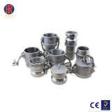 Stainless Steel Cam Lock Coupling Pipe Fitting Quick Release Cam And Groove Couping
