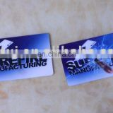Two Artworks 3D Lenticular Business Card
