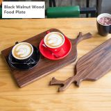 Factory Wholesale Whole Wood Food Board With Deer Corner Shape Handle