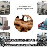 Industrial tapioca starch processing machine for cassava processing