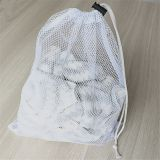 Sports Durable Mesh Drawstring Sports Equipment Bag