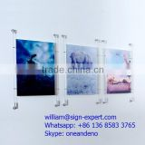 Wall Mounted Cable Wire Suspension Window Display Systems