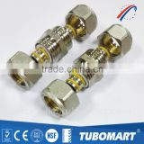 Pex al pex adaptor brass compression fittings screw union for pe pipe SAI global