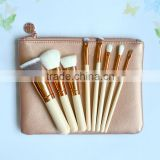8pcs portable cosmetic makeup brush, cosmetic brush, make up brush for travel set