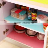 Oil Resistant Kitchen Drawer Mat Shelf Liner Fridge Cabinet Storage Pad
