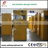 Spark proof Gas Cylinder Cabinets with explosion resistant acrylic window
