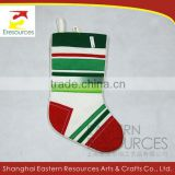 Fleece Seamed Christmas Stocking