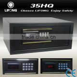 New Design high quality hotel digital biometic cash drawer metal laptop hotel keypad safe box