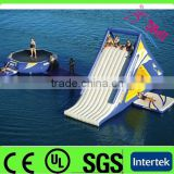 2014 cheap commercial inflatable floating island for kids and adults / inflatable water park games                                                                         Quality Choice