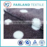velvet fabric wholesale fake ugg boots lining fabric and for neck pillow fabric 100polyester fabric