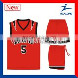 Sublimation Jersey Design Cheap Reversible Basketball Jerseys