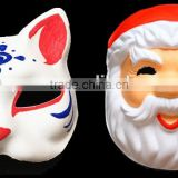Imaginative popular reliable quality kids party painting paper face mask toys